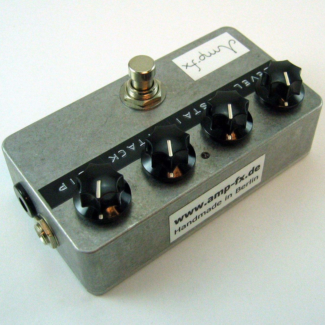 Amp-fx Keeley Compressor clone // C4 4- Version on